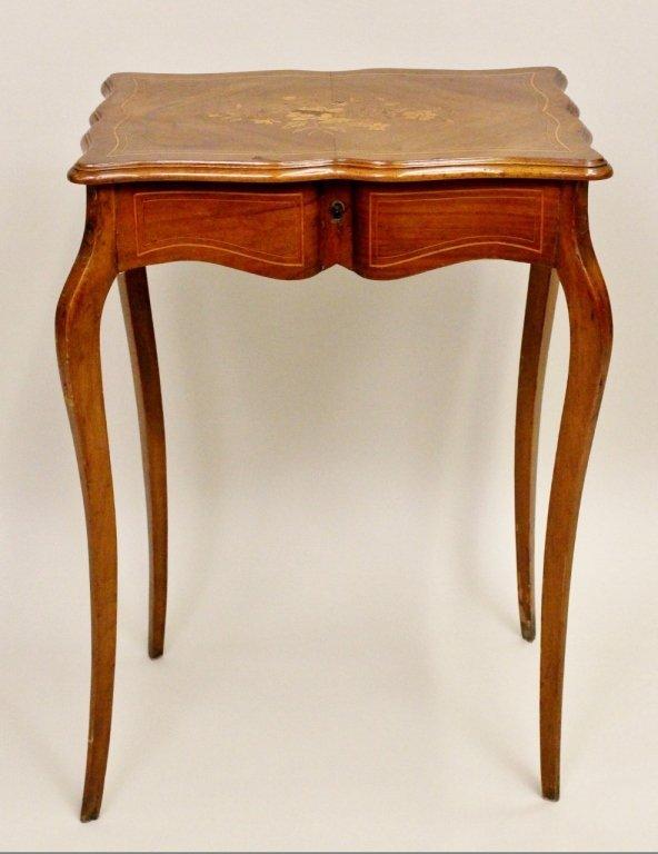 French Walnut Dressing Table