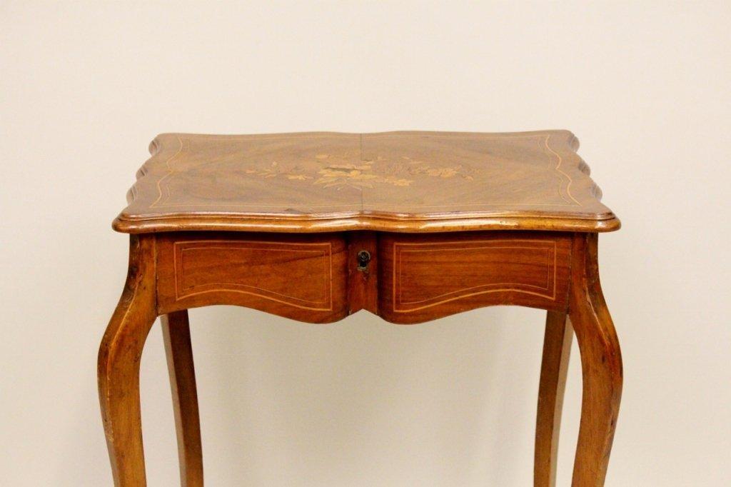 French Walnut Dressing Table - 3