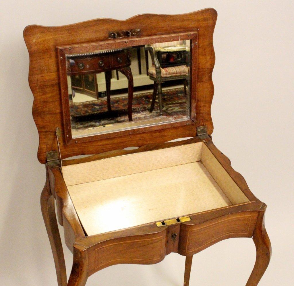 French Walnut Dressing Table - 5