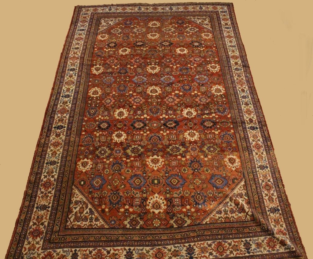 Large Hand Woven Rug