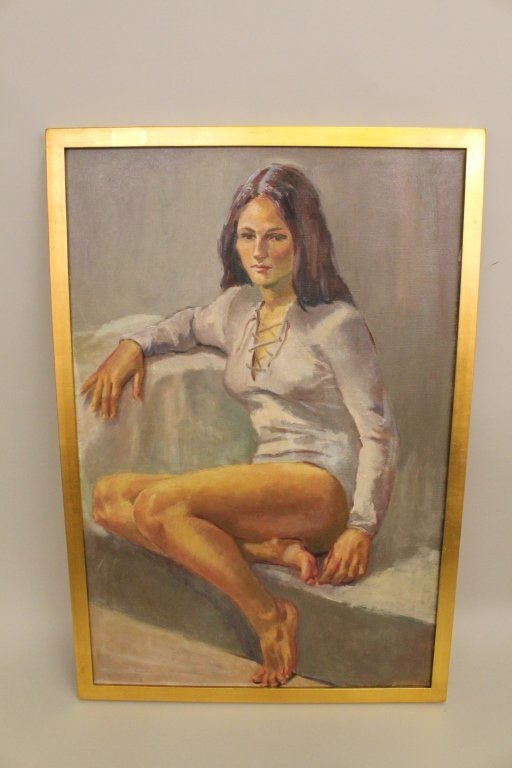 Dorothy Gay Poole Original Oil on Canvas