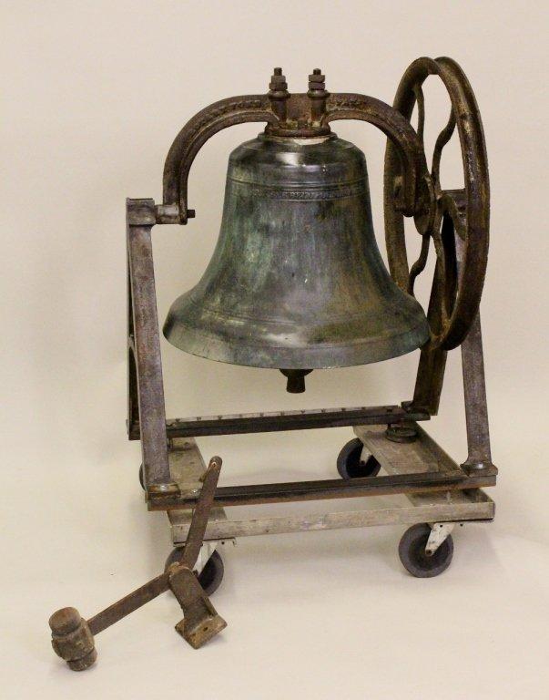 American Cast Bronze Church Bell, Circa 1928