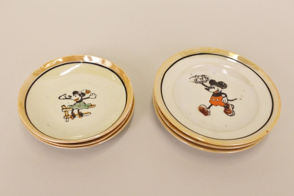 Mickey & Minnie Mouse Toy Tea Set - 4