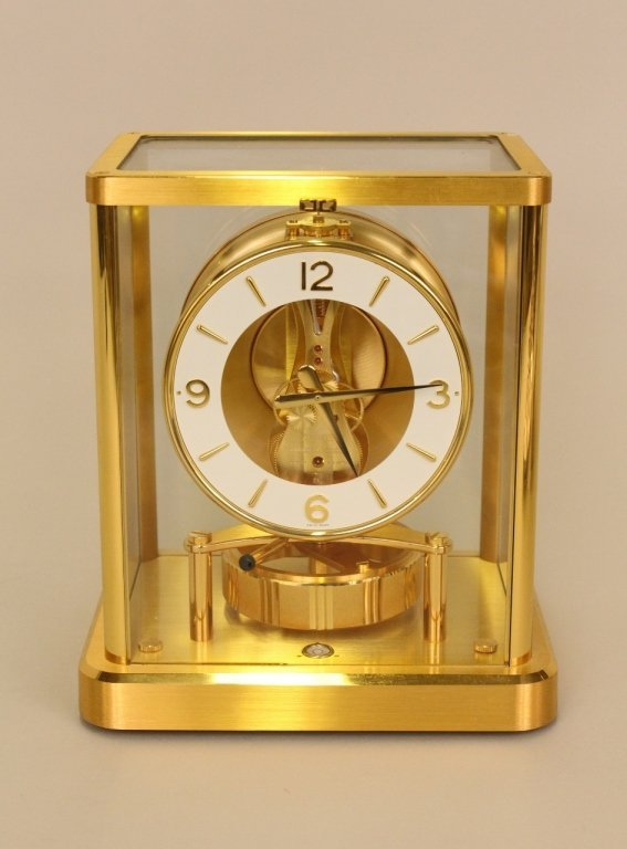Jaegar-Le Coultre Brass Atmos Clock