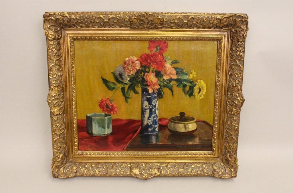 20th C. German School Still Life Painting