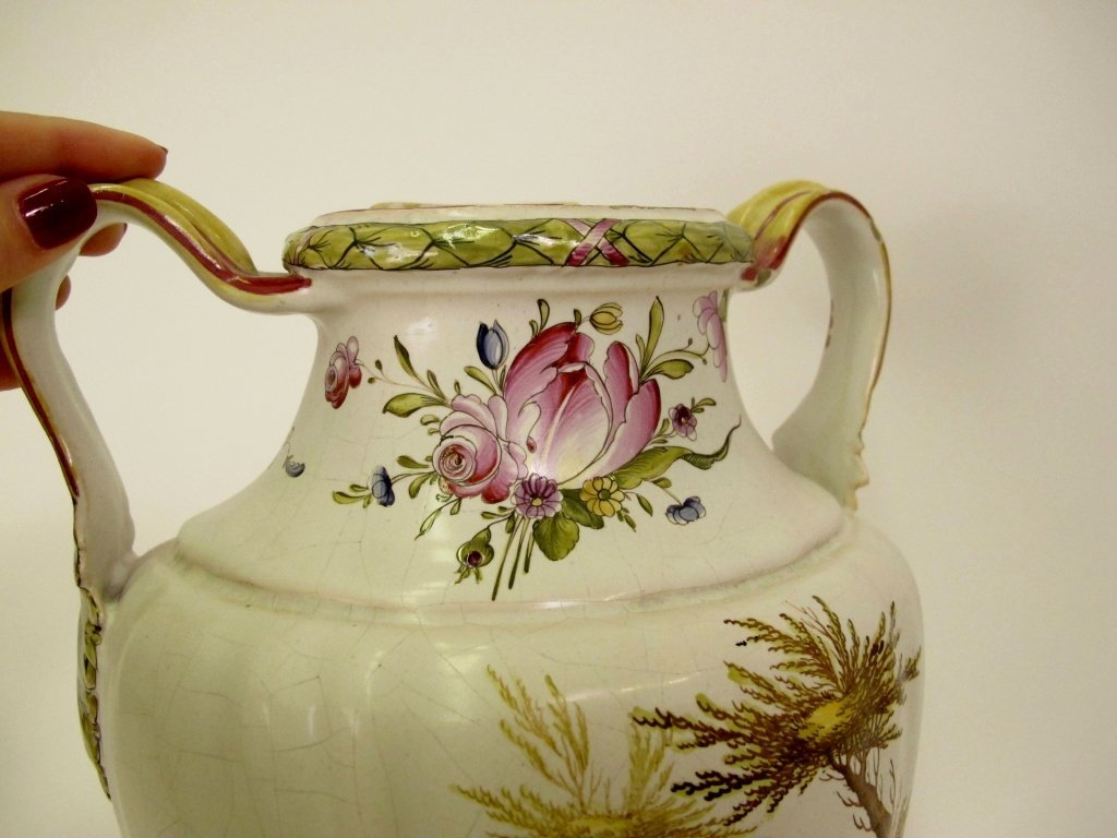 French Faience Veuve Perrin Lavabo - 4