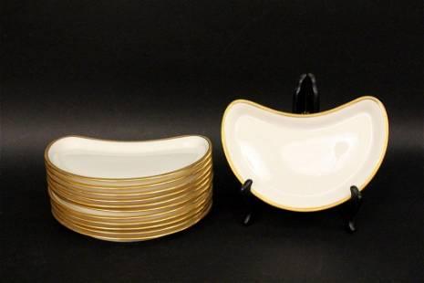 Set of 12 Lenox for Tiffany & Co Salad Plates