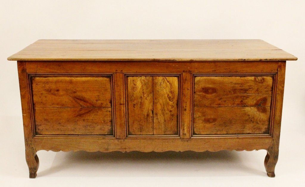 Louis XV Style Fruitwood Coffer