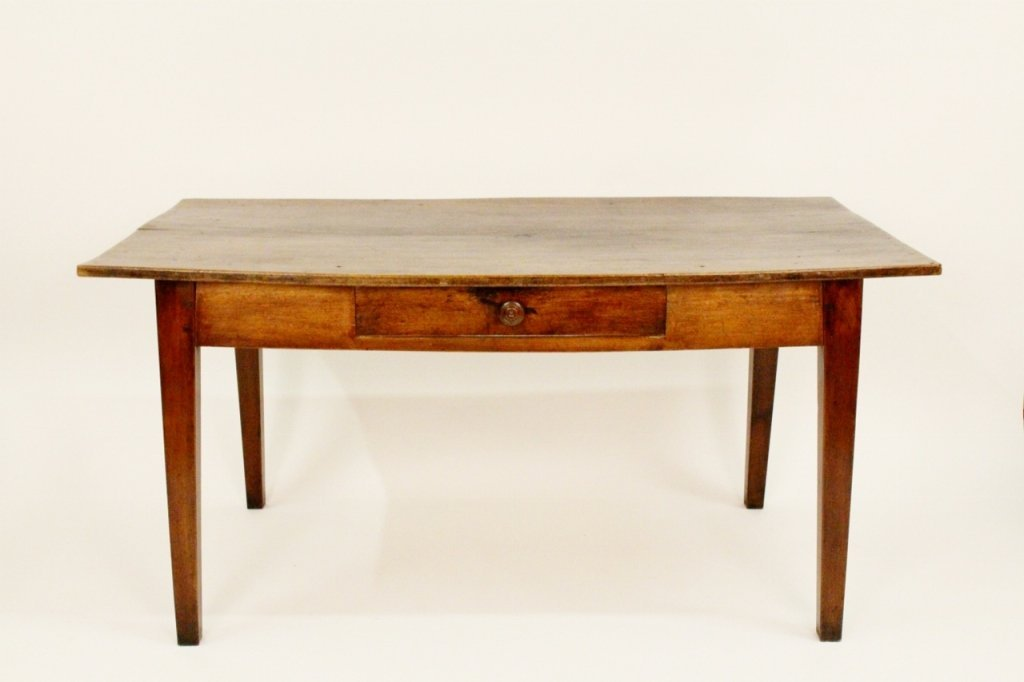 French Directoire Oak Kitchen Table