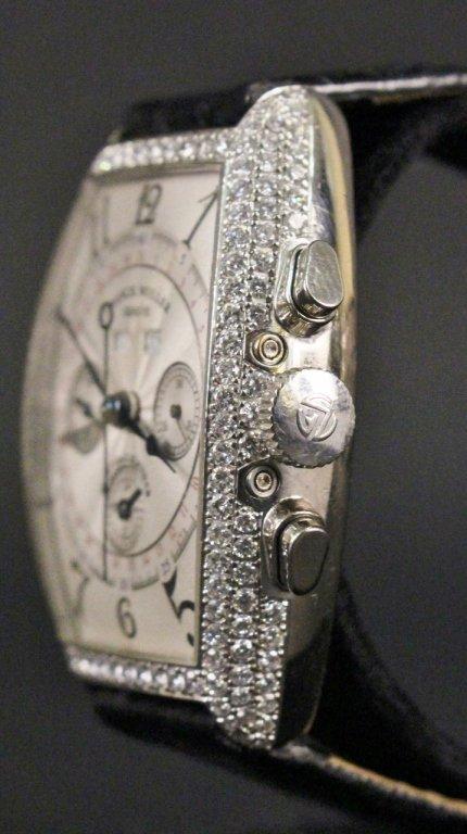 Franck Muller 18k White Gold & Diamond Watch - 2