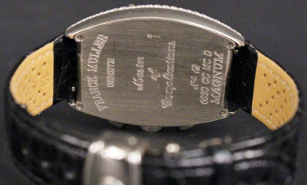 Franck Muller 18k White Gold & Diamond Watch - 5