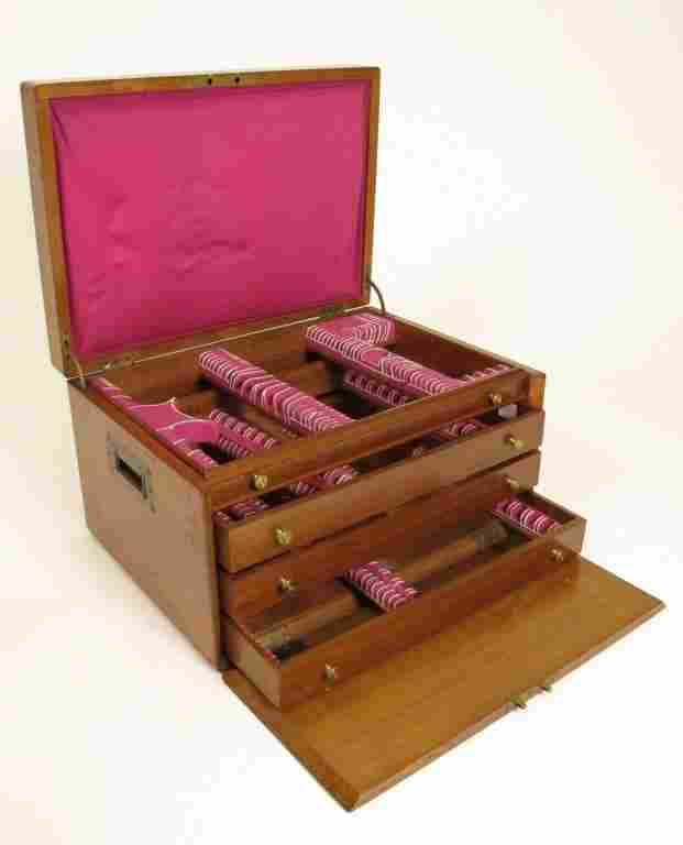 Wooden Silver Chest