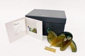 Daum, Sensualité Modern Art Glass Sculpture