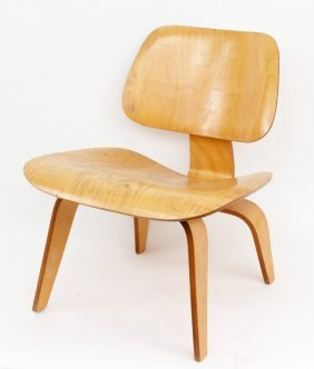 Eames for Herman Miller Wood Lounge Chair