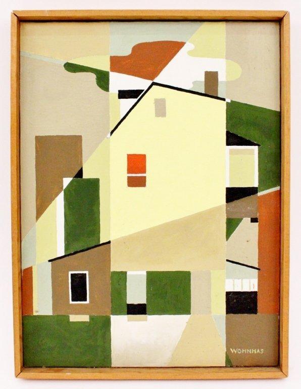 Vernon Wohnhas Architectural Oil
