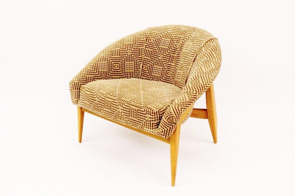 Milo Baughman Modern Upholstered Chair