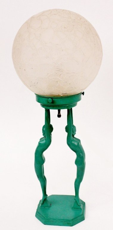 Frankart Figural Globe Lamp (L211)
