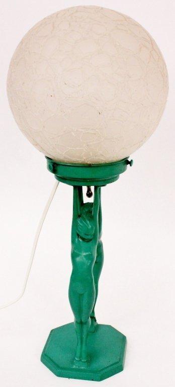 Frankart Figural Globe Lamp (L211) - 5