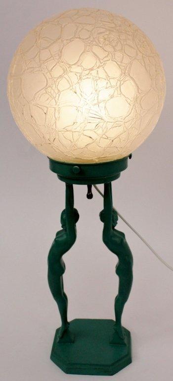 Frankart Figural Globe Lamp (L211) - 6