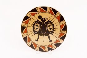 Sabino Villalba Pottery Plate/Shallow Bowl