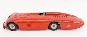 Pressed Steel Sunbeam Red Racer, Likely Kingsbury