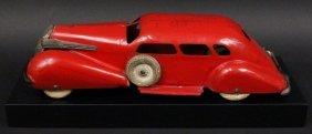 Pressed Steel Kingsbury Red Car