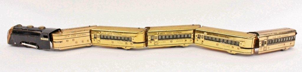 Marx Mercury New York Central Train (Brass)