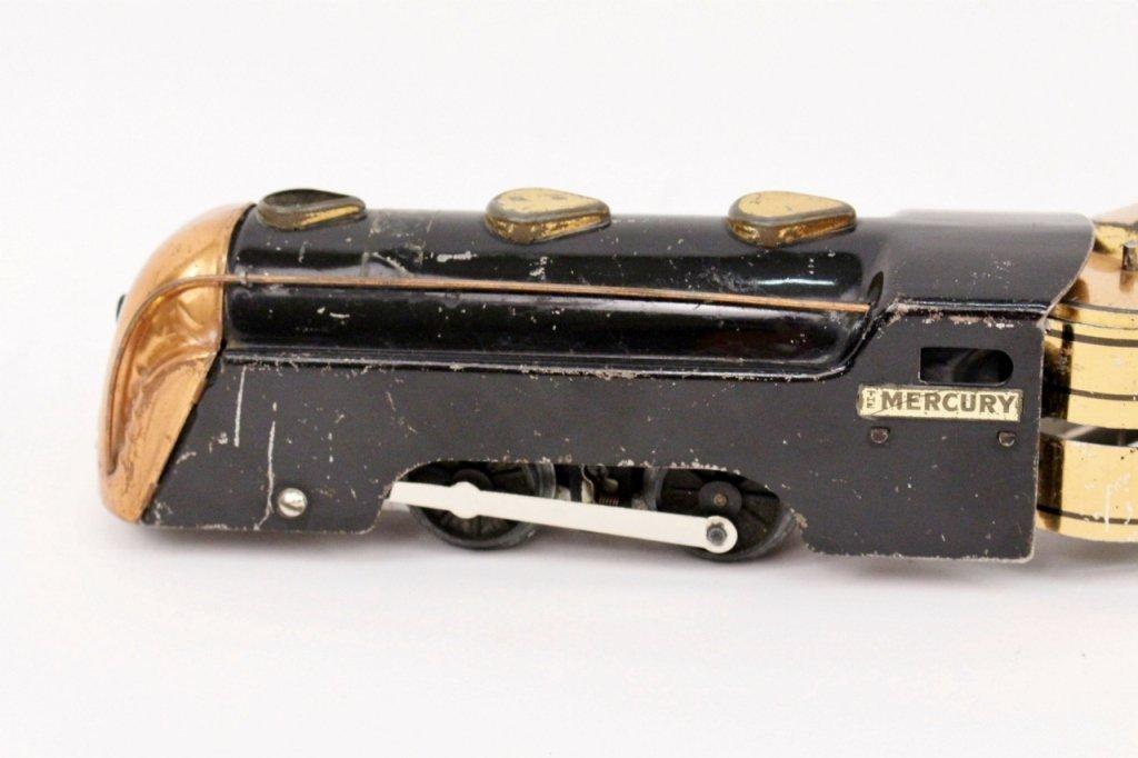 Marx Mercury New York Central Train (Brass) - 2
