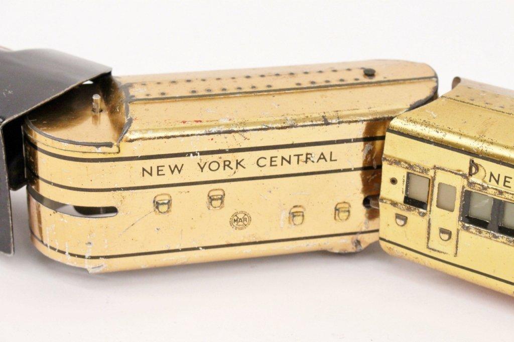 Marx Mercury New York Central Train (Brass) - 3
