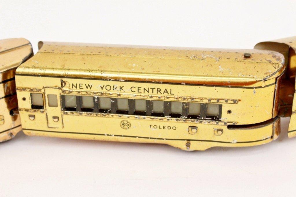 Marx Mercury New York Central Train (Brass) - 4