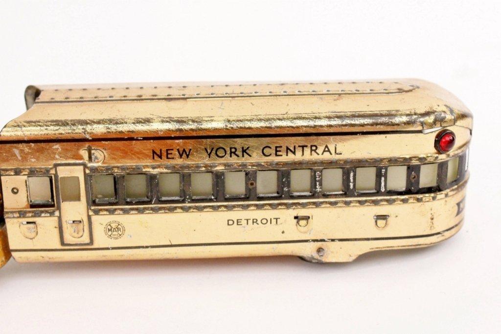 Marx Mercury New York Central Train (Brass) - 5
