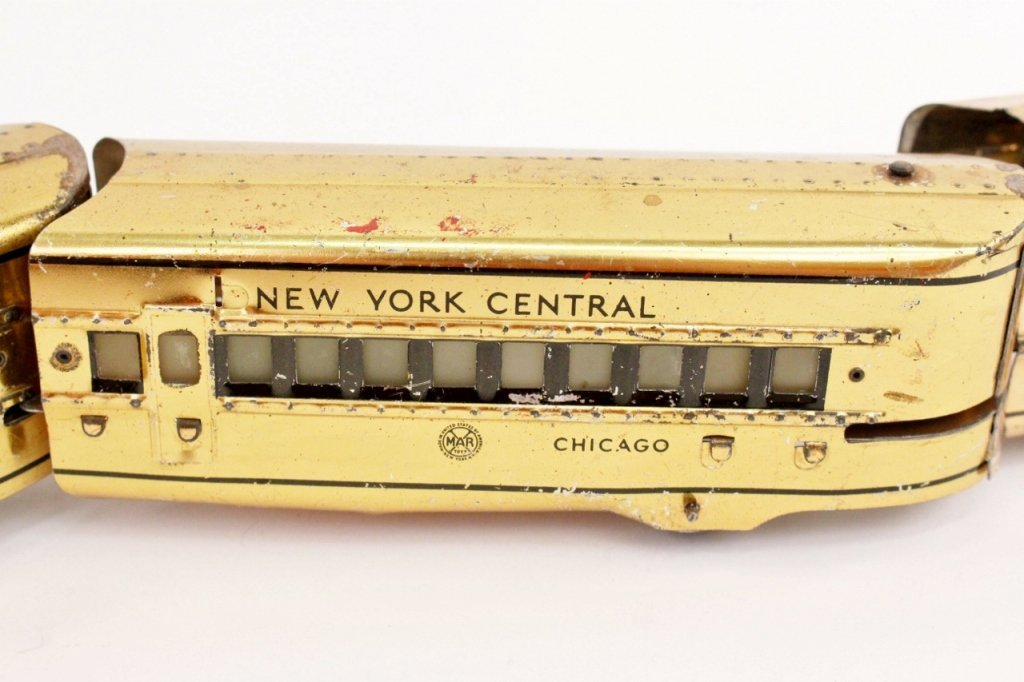 Marx Mercury New York Central Train (Brass) - 6
