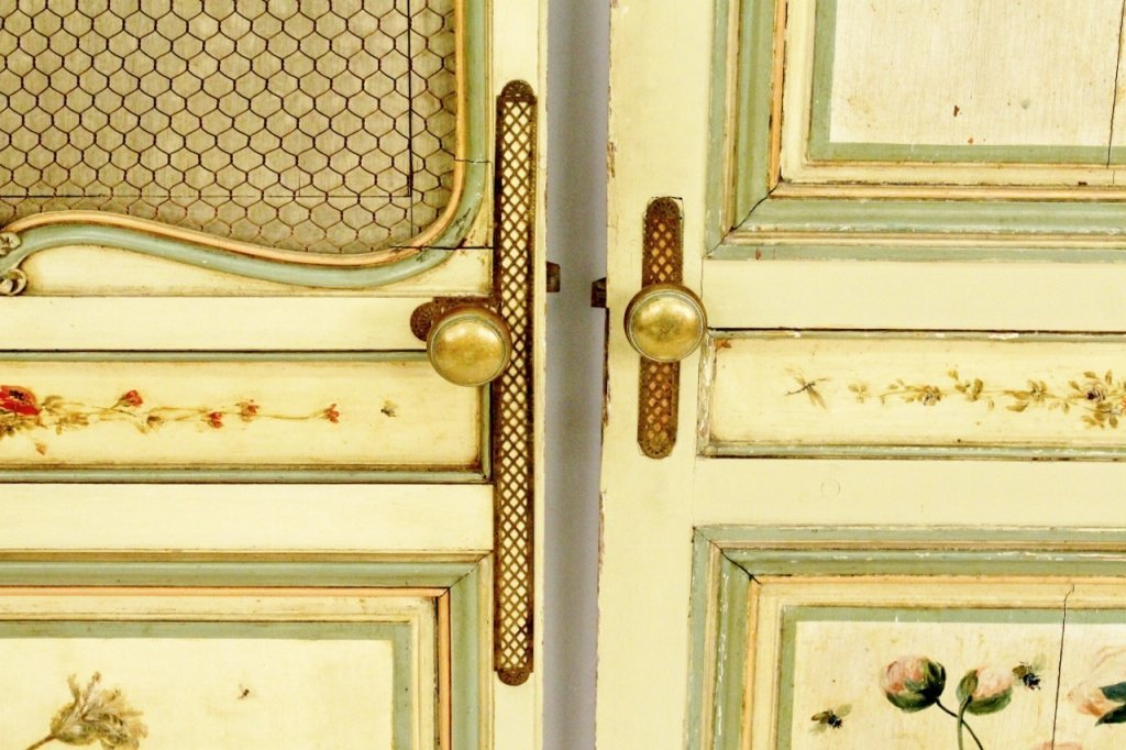 Pair of French Painted Doors - 6