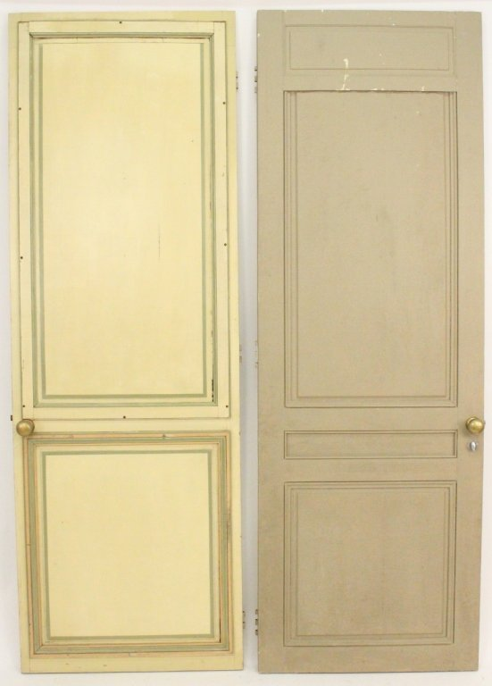 Pair of French Painted Doors - 8