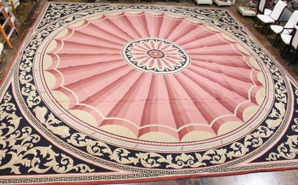Very Large Lacy Champion Custom Made Rug Mar 16 2014 Ahlers Ogletree Auction Gallery In Ga