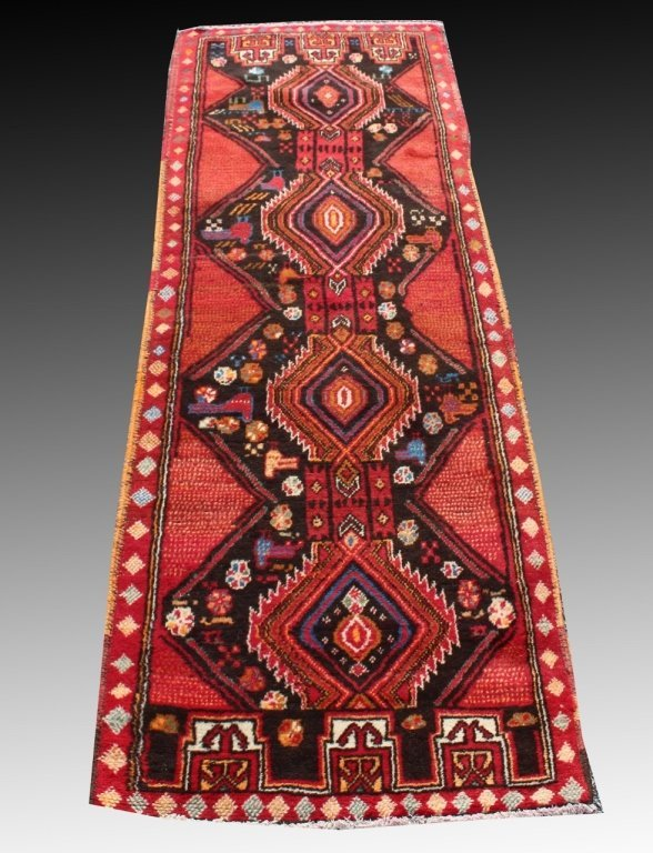 Persian Baluch Runner, 2.3 x 6.7