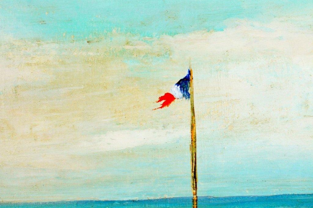 Michel Jamart Beach Oil on Canvas - 4
