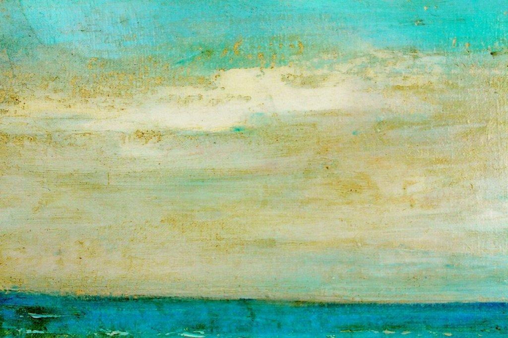 Michel Jamart Beach Oil on Canvas - 5