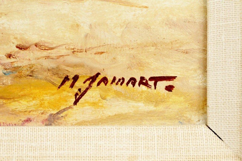 Michel Jamart Beach Oil on Canvas - 6