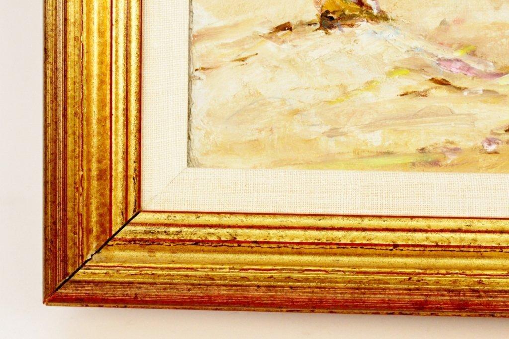 Michel Jamart Beach Oil on Canvas - 7
