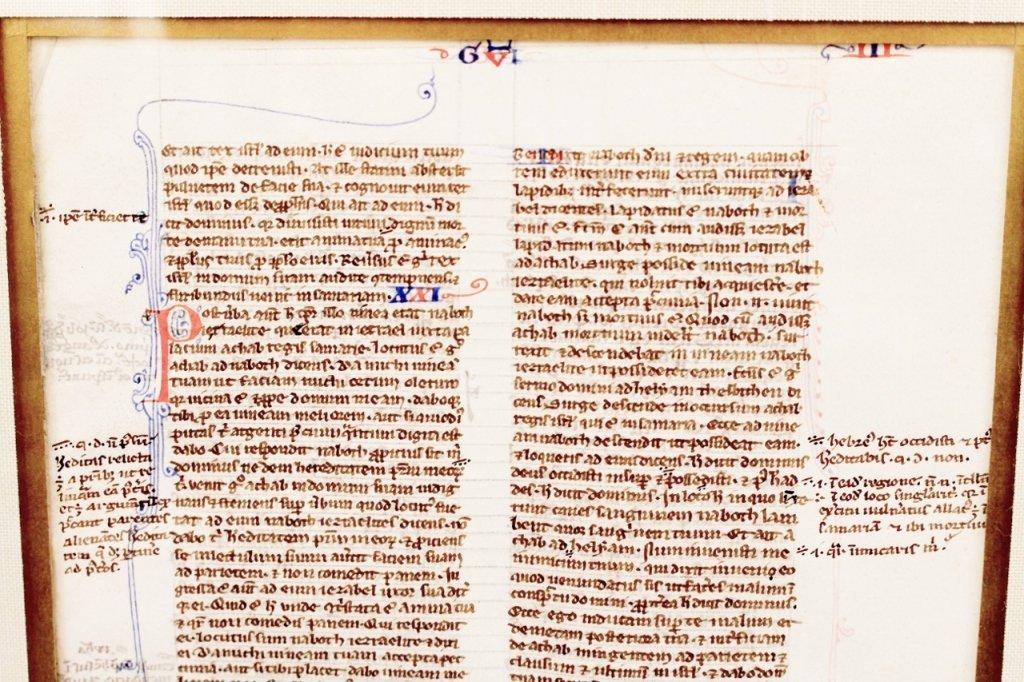 Medieval Illuminated Manuscript on Vellum - 2