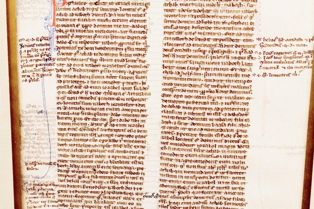 Medieval Illuminated Manuscript on Vellum - 3