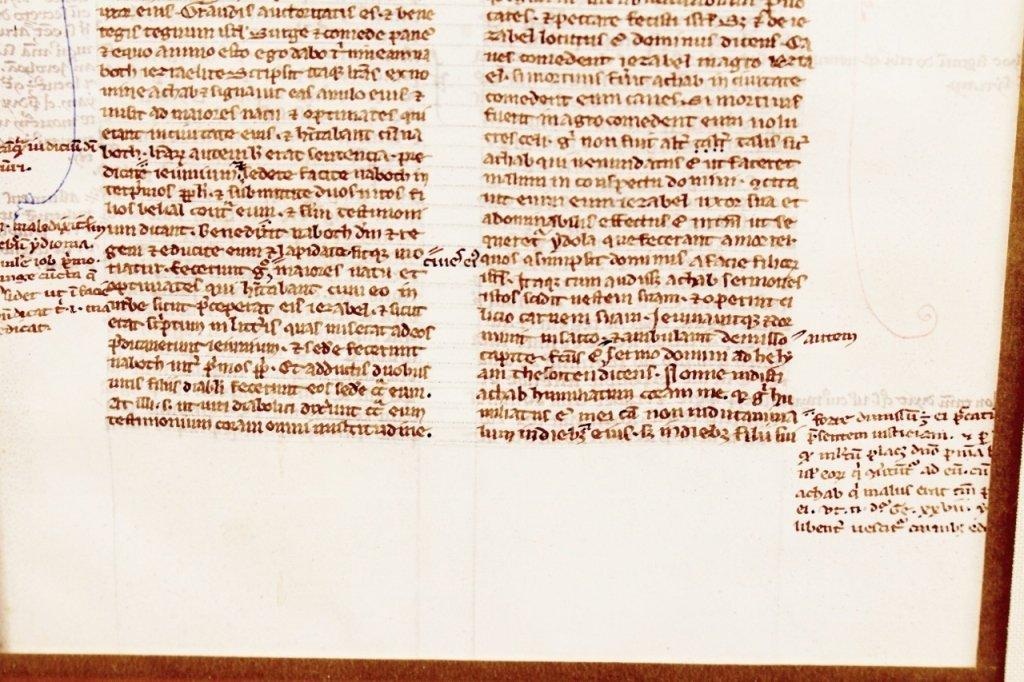 Medieval Illuminated Manuscript on Vellum - 4