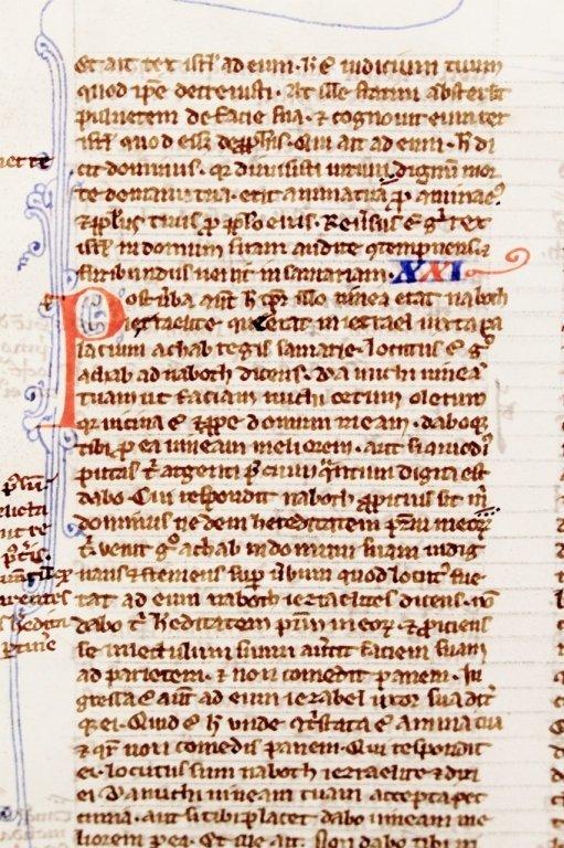 Medieval Illuminated Manuscript on Vellum - 5
