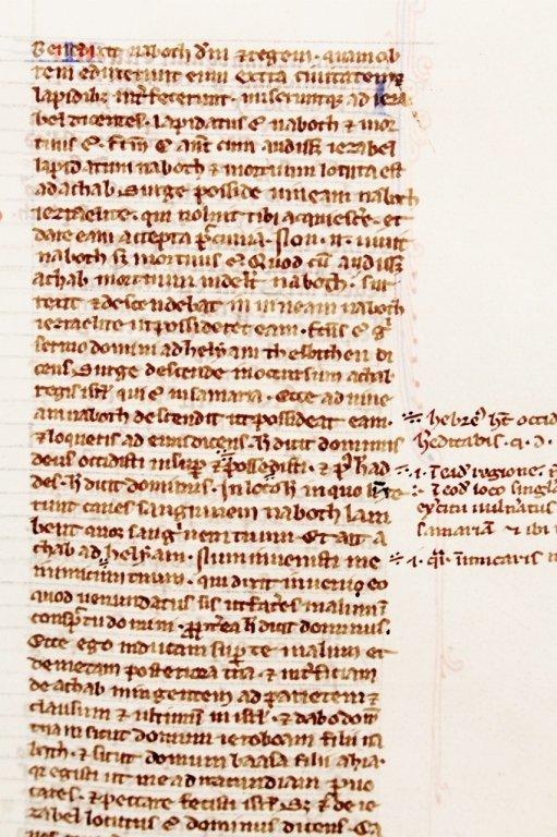 Medieval Illuminated Manuscript on Vellum - 6