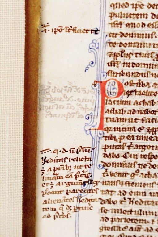 Medieval Illuminated Manuscript on Vellum - 8