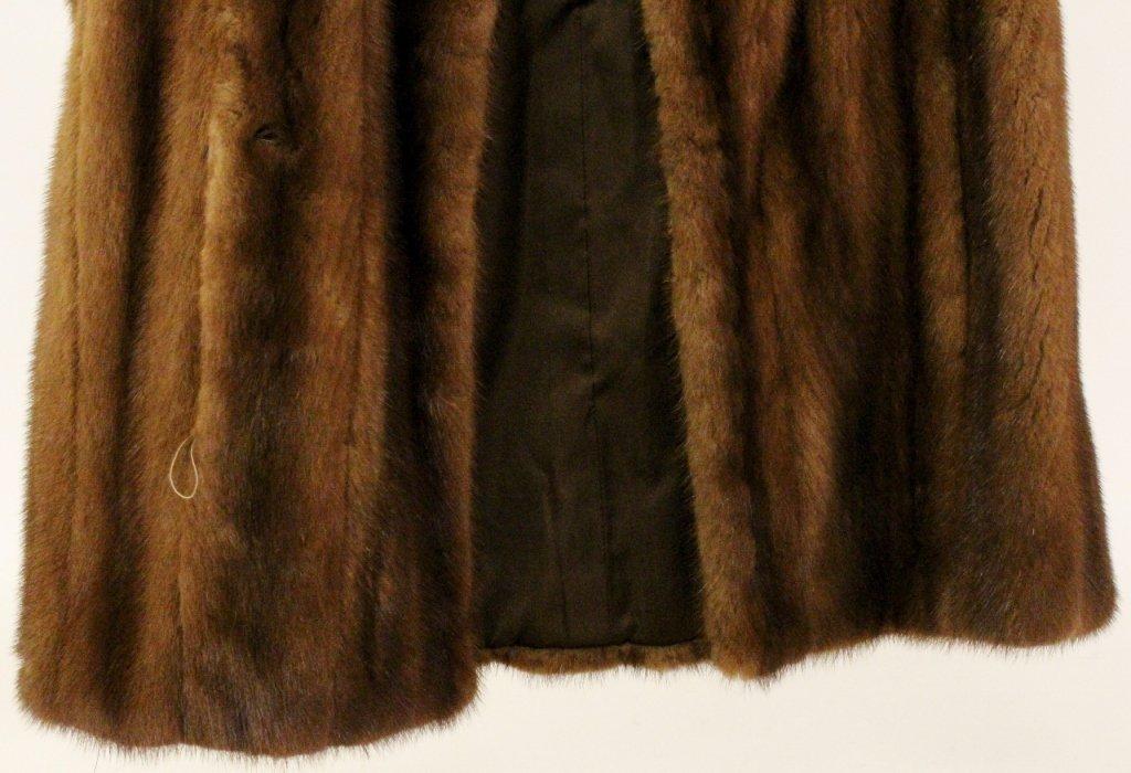 Brown Mink Fur Vest or Stole - 2