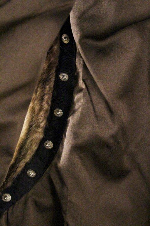 Brown Mink Fur Vest or Stole - 6
