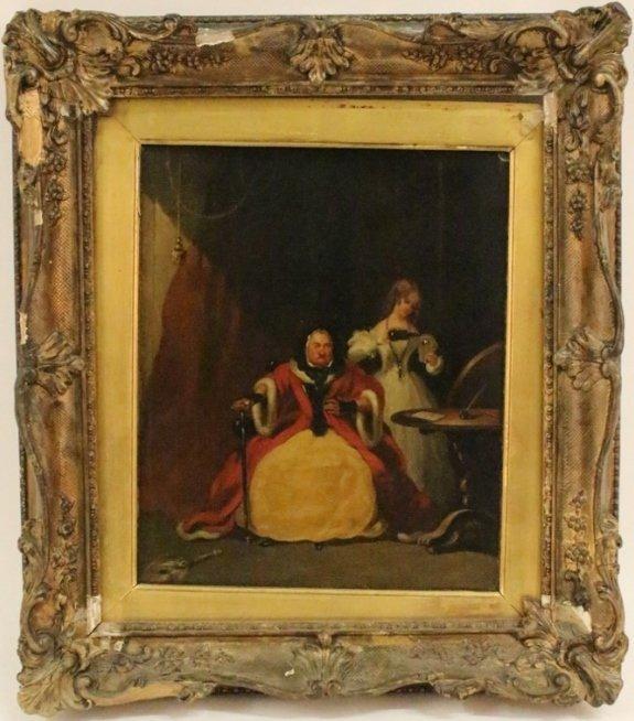 Edward Matthew Ward Figural Painting