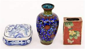 Group of Three Small Asian Items